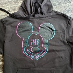 Neff Disney black Mickey mouse hoodie